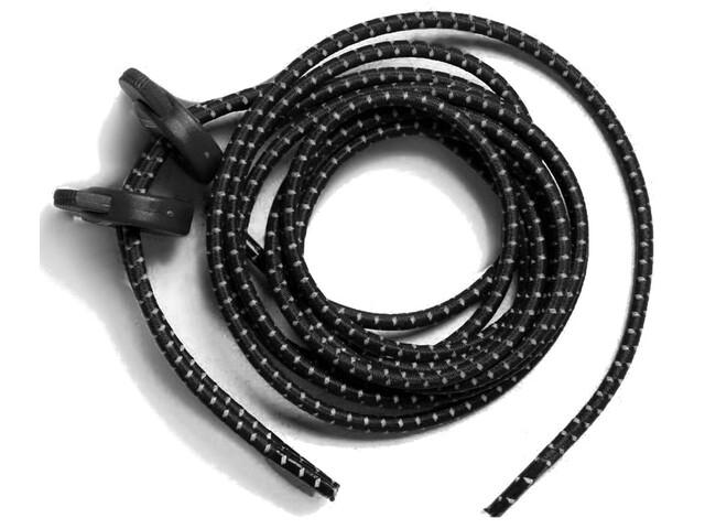 Zone3 Elastic Laces Black